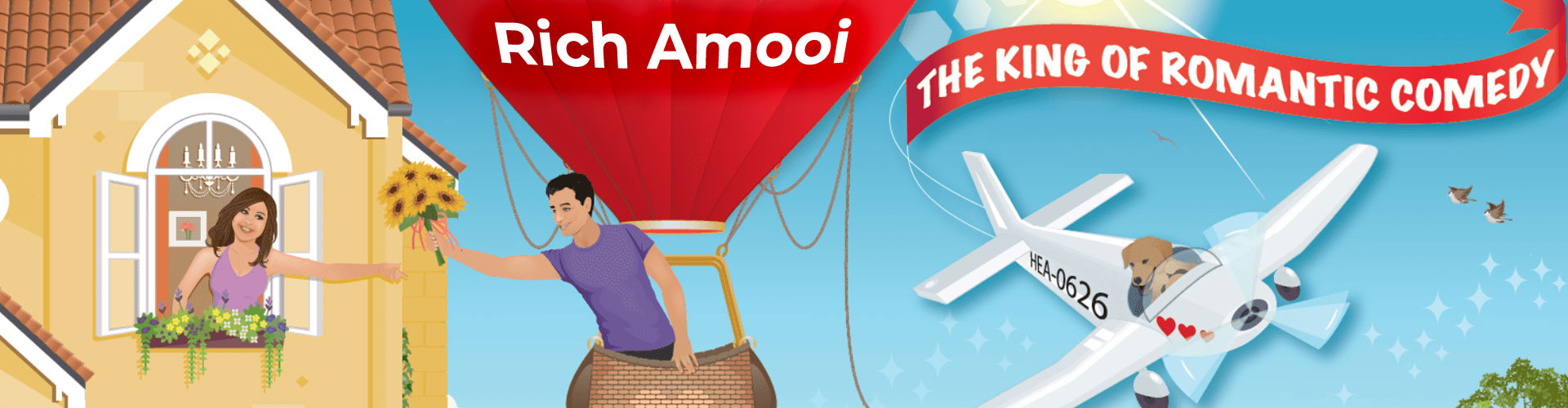 Rich Amooi - The King of Romantic Comedy