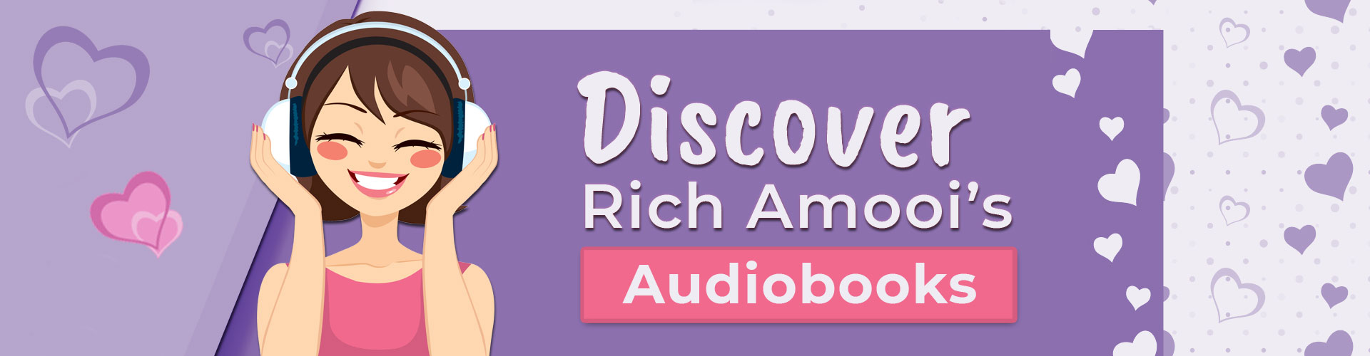 Discover Rich Amooi's Audiobooks